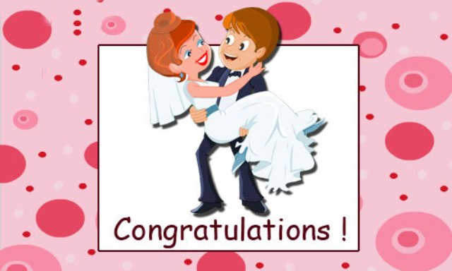 Congratulations-Wedding