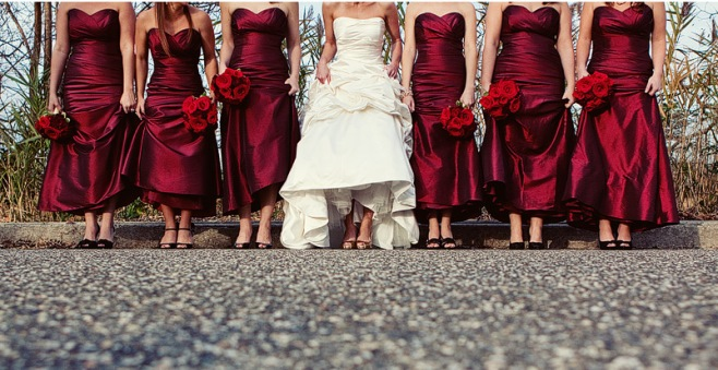Modern-Wedding-Party-Photo