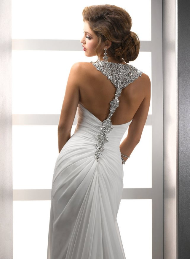 chiffon-wedding-dress