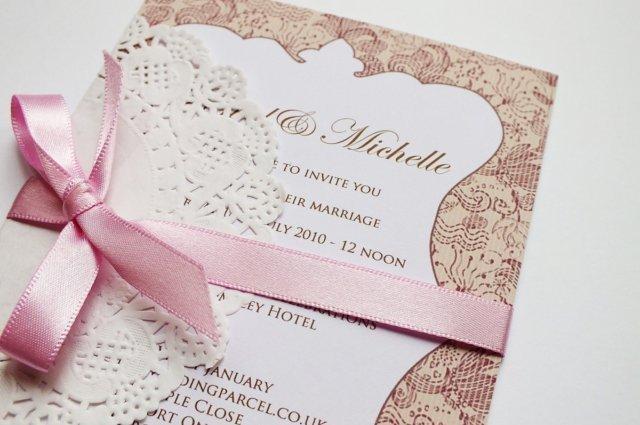 Pozivnica za venčanje - izrada
